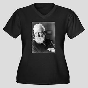 george bernard shaw Plus Size T-Shirt