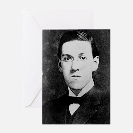 hp lovecraft Greeting Cards
