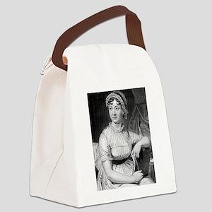 jane austen Canvas Lunch Bag