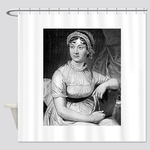 jane austen Shower Curtain