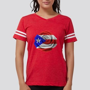 Puerto Rican Rose Flag T-Shirt