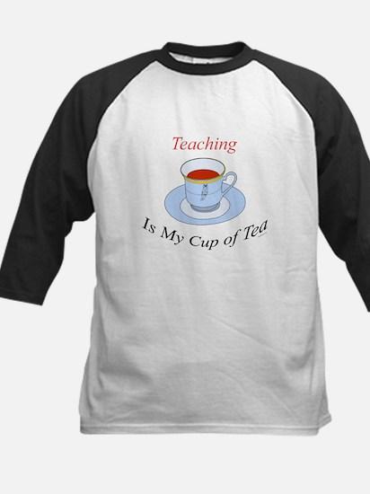 Teaching is my cup of tea Kids Baseball Jersey