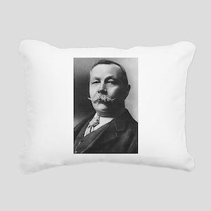 arthur conan doyle Rectangular Canvas Pillow