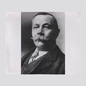 arthur conan doyle Throw Blanket