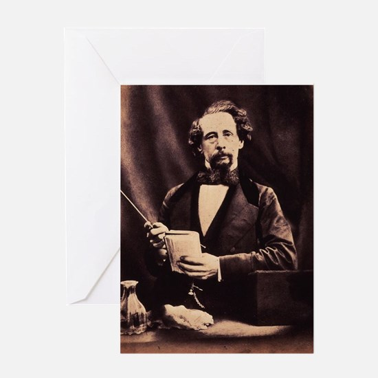charles,dickens Greeting Cards