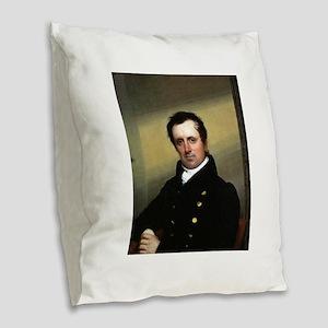 james fenimore cooper Burlap Throw Pillow