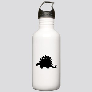 Stegosaurus Silhouette Water Bottle