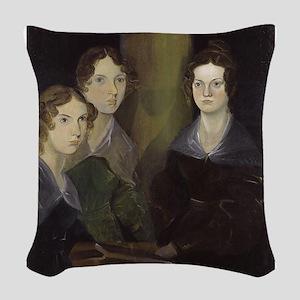 emily bronte Woven Throw Pillow