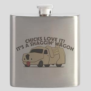 Dumb And Dumber Shaggin Wagon Flask