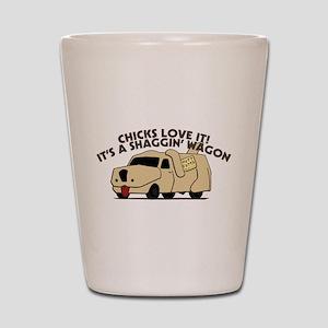 Dumb And Dumber Shaggin Wagon Shot Glass