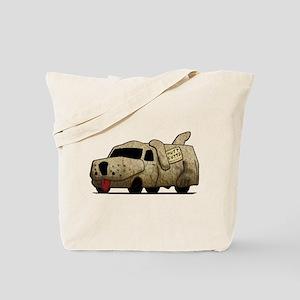 Vintage Mutt Cutts Van Dumb And Dumber Tote Bag