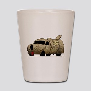 Vintage Mutt Cutts Van Dumb And Dumber Shot Glass