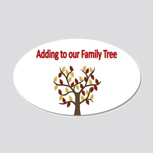 adding to our family tree Wall Decal