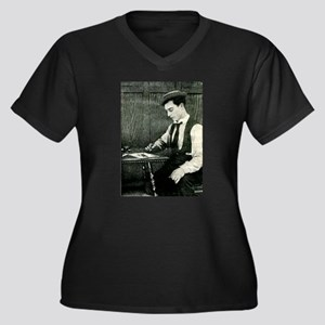 buster,keaton Plus Size T-Shirt