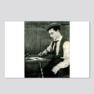 buster,keaton Postcards (Package of 8)
