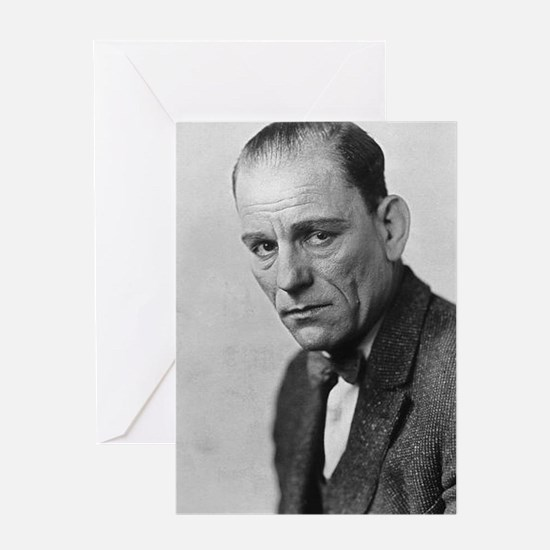 lon chaney Greeting Cards
