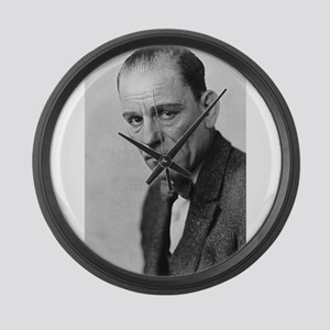 lon chaney Large Wall Clock