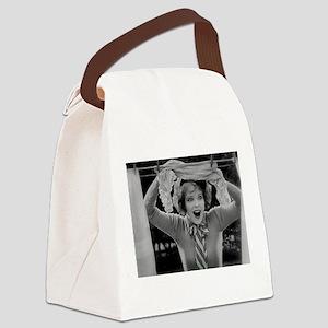 clara bow Canvas Lunch Bag
