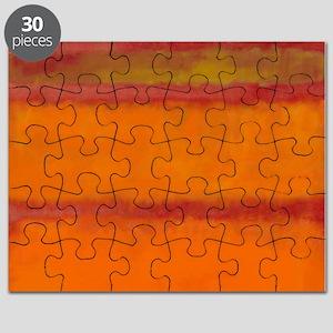 ROTHKO IN RED ORANGE Puzzle