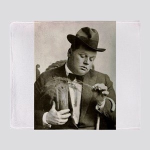 fatty arbuckle Throw Blanket