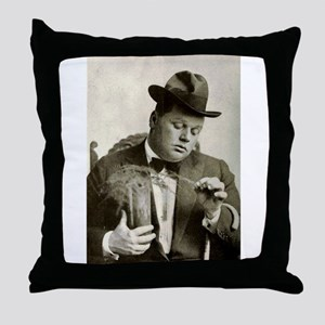 fatty arbuckle Throw Pillow