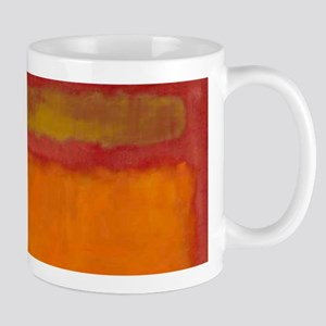 ROTHKO IN RED ORANGE Mugs