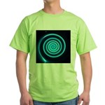 Teal and Black Twirl T-Shirt