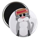 Cat in a Hat Magnets