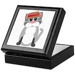 Cat in a Hat Keepsake Box