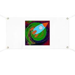 Rocket Green Banner