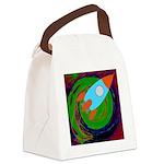 Rocket Green Canvas Lunch Bag