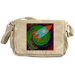 Rocket Green Messenger Bag