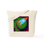 Rocket Green Tote Bag