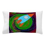 Rocket Green Pillow Case