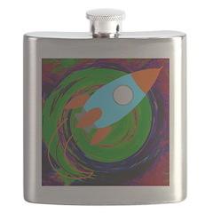 Rocket Green Flask