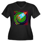 Rocket Green Plus Size T-Shirt