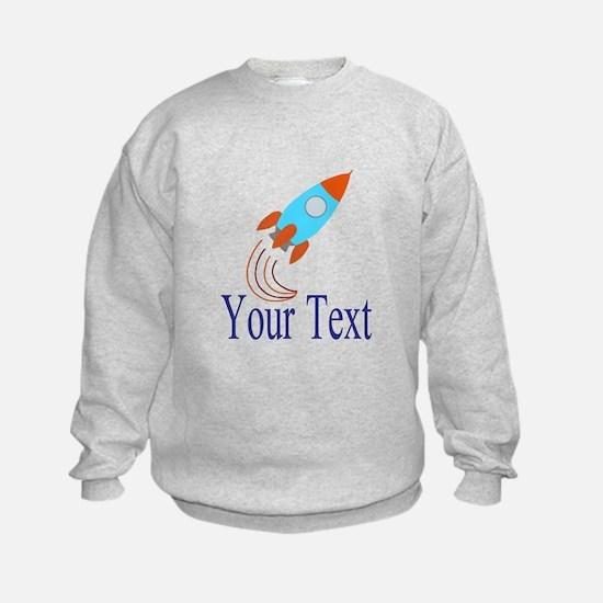 Rocket Ship Personalizable Sweatshirt