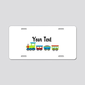 Personalizable Choo Choo Train Aluminum License Pl