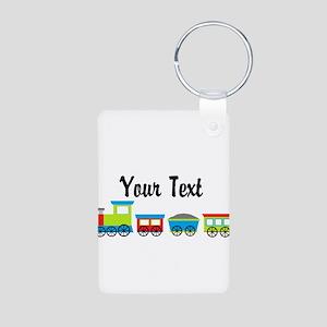 Personalizable Choo Choo Train Keychains
