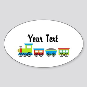 Personalizable Choo Choo Train Sticker