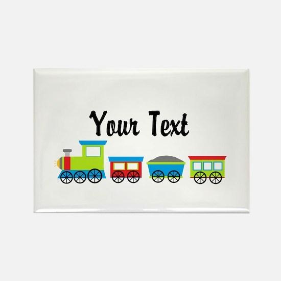 Personalizable Choo Choo Train Magnets