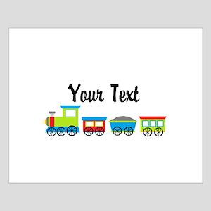 Personalizable Choo Choo Train Posters