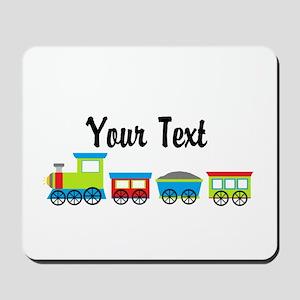 Personalizable Choo Choo Train Mousepad