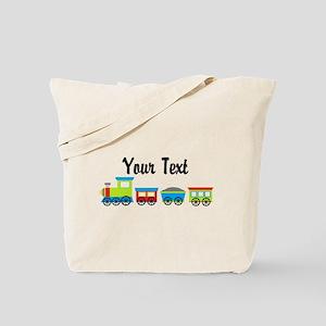Personalizable Choo Choo Train Tote Bag