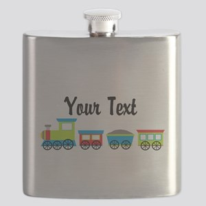 Personalizable Choo Choo Train Flask