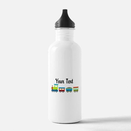 Personalizable Choo Choo Train Water Bottle