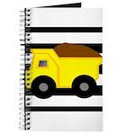 Dump Truck Black and White Journal