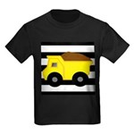 Dump Truck Black and White T-Shirt