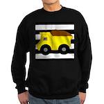 Dump Truck Black and White Sweatshirt