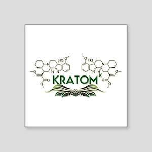 Kratom ( Mitragynine ) Molecule Design Sticker
